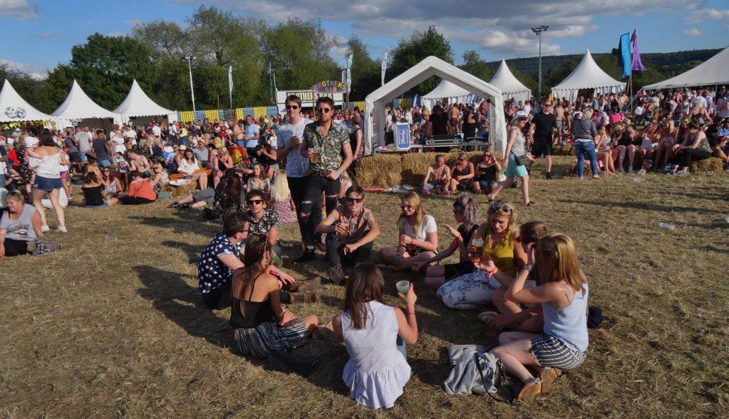 The Novatones at Witcombe Cider Festival
