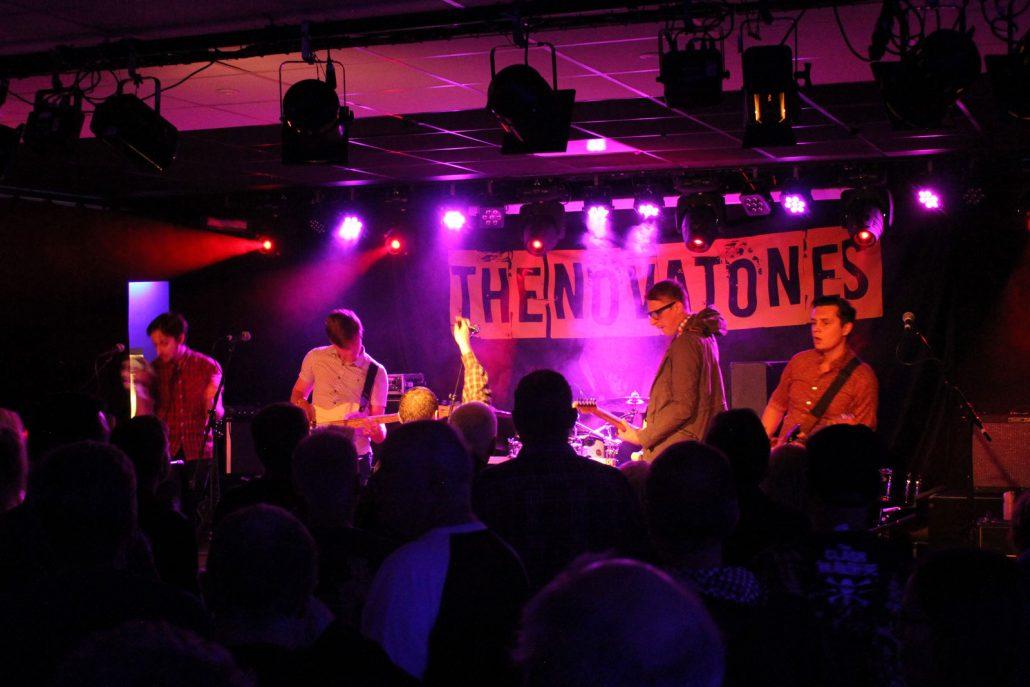 Talking Heads Gig - The Novatones